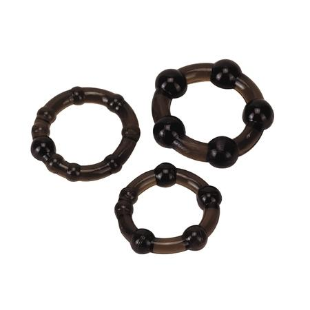 Cockrings set Pro Rings frosted black